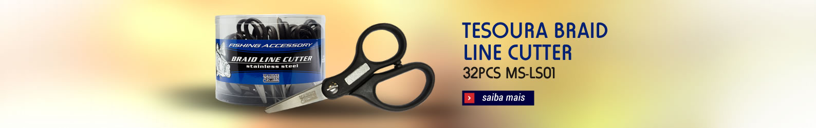 Tesoura Braid Line Cutter